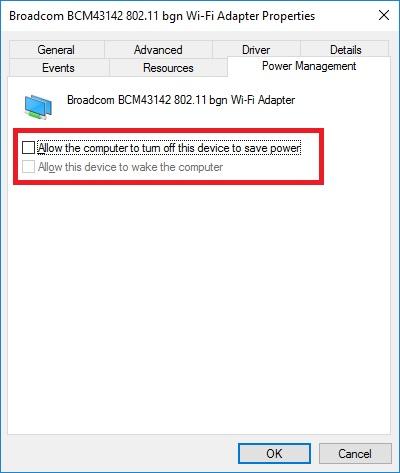 wifi-powermanagement